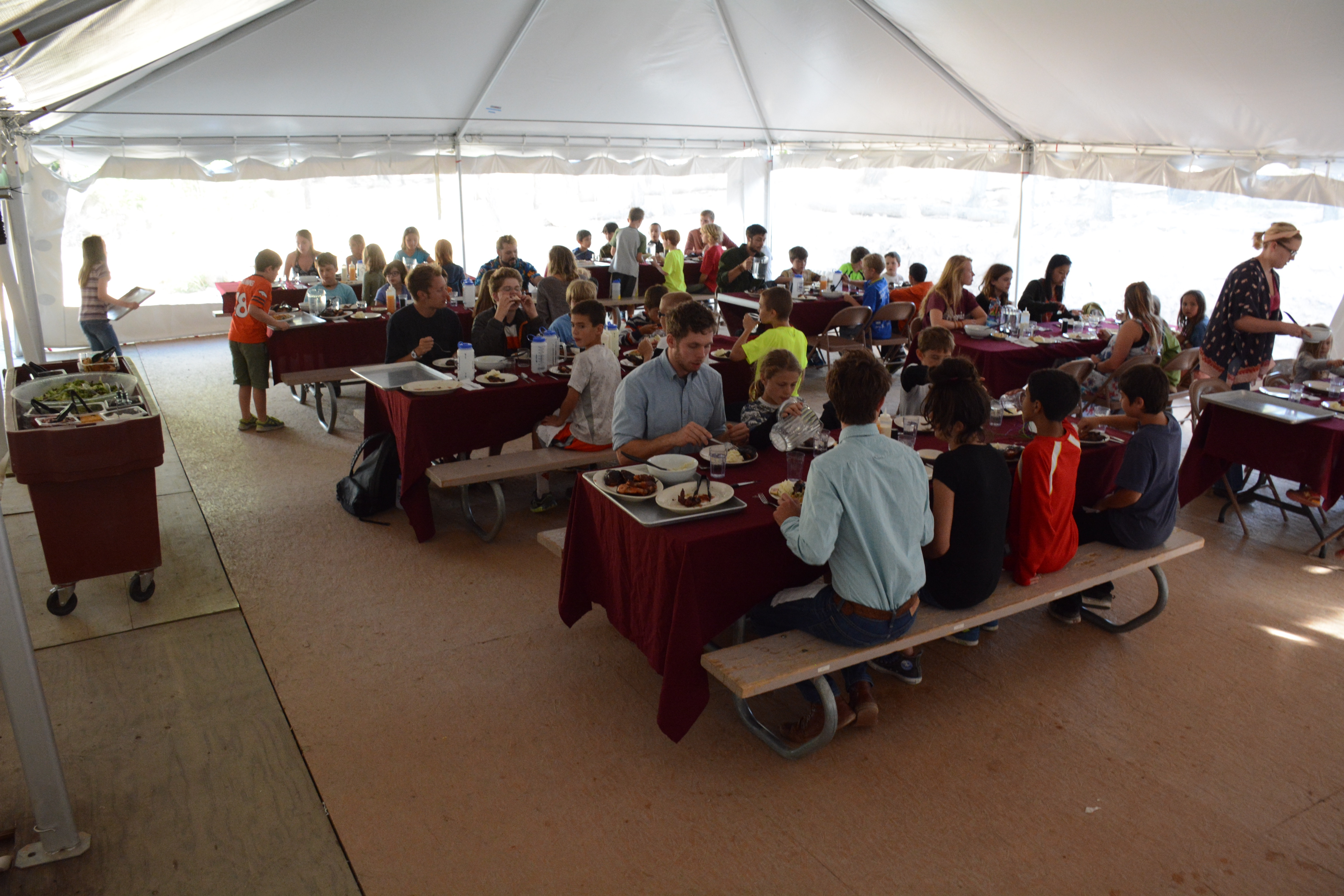 Image of our dining Pavilion